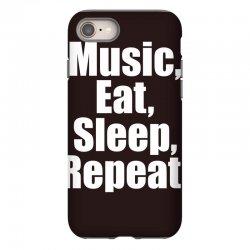 Music Eat Sleep Repeat iPhone 8 Case | Artistshot