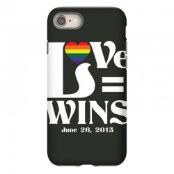 Love Wins iPhone 8 Case | Artistshot