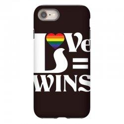 Love Wins iPhone 8 Case   Artistshot