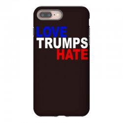 love trumps hate vote for hillary iPhone 8 Plus Case | Artistshot
