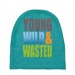 young wild wasted Baby Beanies | Artistshot