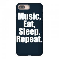 Music Eat Sleep Repeat iPhone 8 Plus Case | Artistshot