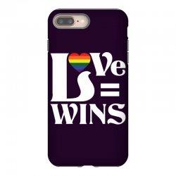 Love Wins iPhone 8 Plus Case   Artistshot