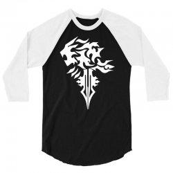 final fantasy 8 squall inspired unisex 3/4 Sleeve Shirt | Artistshot