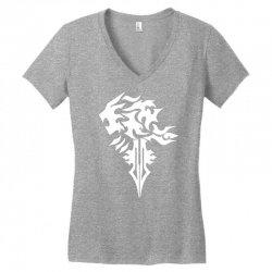 final fantasy 8 squall inspired unisex Women's V-Neck T-Shirt | Artistshot