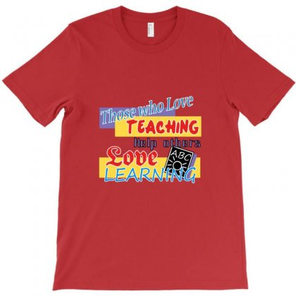 Love Learning T-shirt Designed By Rita
