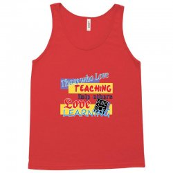 love learning Tank Top | Artistshot