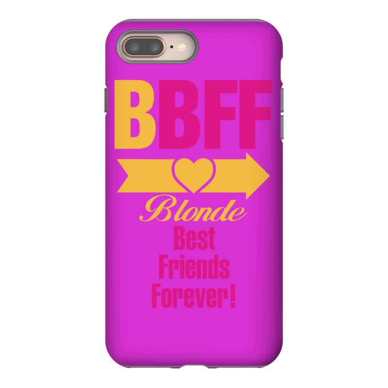 new style 50326 f1707 Blonde Best Friend Forever Right Arrow Iphone 8 Plus Case. By Artistshot
