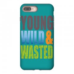 young wild wasted iPhone 8 Plus Case | Artistshot