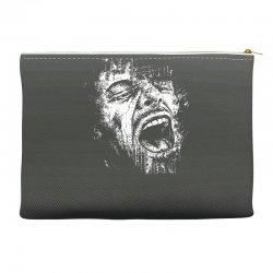 Scream Face Accessory Pouches | Artistshot