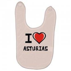 i love asturias Baby Bibs | Artistshot