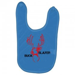 buck slayer Baby Bibs | Artistshot