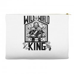 Wild World King Accessory Pouches | Artistshot