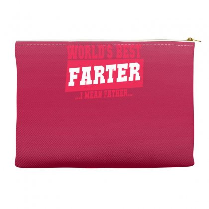 World's Best Farter I Mean Father Accessory Pouches Designed By Specstore