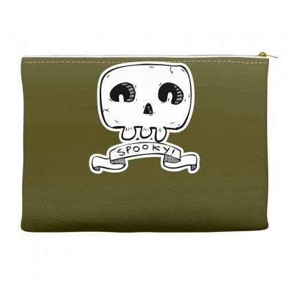Spooky Skull Accessory Pouches Designed By Specstore
