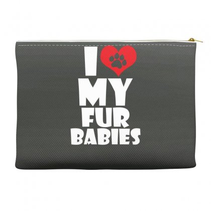 I Love Fur Babies Accessory Pouches Designed By Specstore