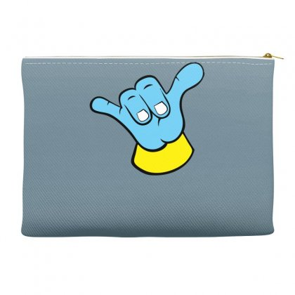 Hang Loose Big Blue Accessory Pouches Designed By Specstore