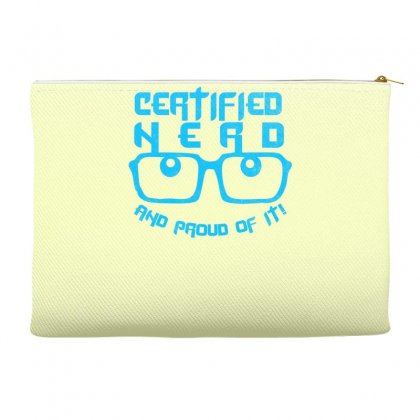 Certified Nerd Accessory Pouches Designed By Specstore