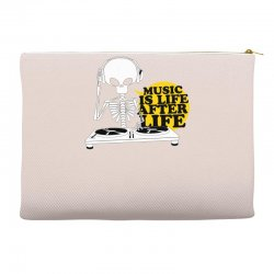 music is life Accessory Pouches   Artistshot