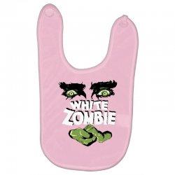 white zombie Baby Bibs   Artistshot