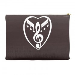 music heart Accessory Pouches | Artistshot