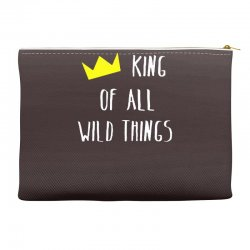 king of all wild things Accessory Pouches | Artistshot