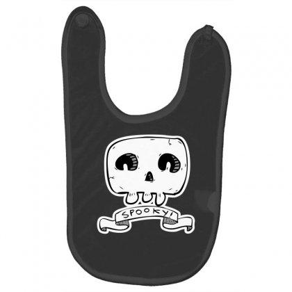 Spooky Skull Baby Bibs Designed By Specstore