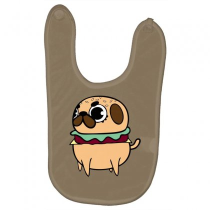 Pug Burger Baby Bibs Designed By Specstore