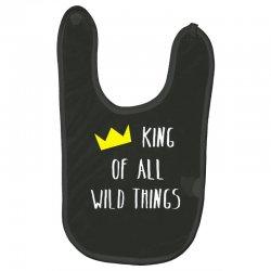 king of all wild things Baby Bibs | Artistshot