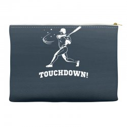 touchdown   funny sports Accessory Pouches | Artistshot