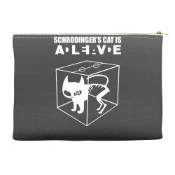 the big bang theory sheldon cooper schrodinger's cat Accessory Pouches | Artistshot