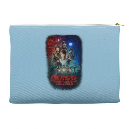 Stranger Things Poster Accessory Pouches Designed By Vr46