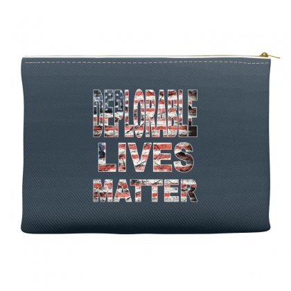 Deplorable Lives Matter Accessory Pouches Designed By Vr46