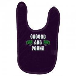 ground and pound Baby Bibs | Artistshot