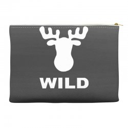 wild animal funny Accessory Pouches | Artistshot