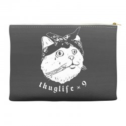 thug cat Accessory Pouches | Artistshot