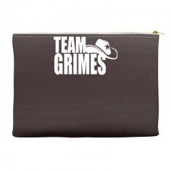 team grimes walking dead Accessory Pouches | Artistshot