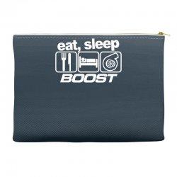 eat sleep boost Accessory Pouches | Artistshot