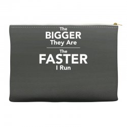 the bigger they are the faster Accessory Pouches | Artistshot