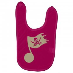 music pirate Baby Bibs | Artistshot