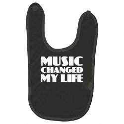 music changed my life Baby Bibs | Artistshot