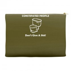 constipated people Accessory Pouches | Artistshot