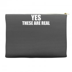 yes these are real funny Accessory Pouches | Artistshot