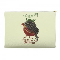 eat fruits Accessory Pouches | Artistshot