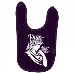 virgo zodiac Baby Bibs | Artistshot