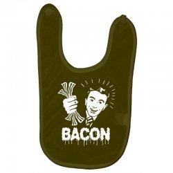 love bacont fun ny Baby Bibs | Artistshot