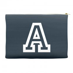 A Initial Name Accessory Pouches | Artistshot