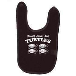 turtles heroes Baby Bibs | Artistshot