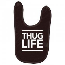 thug life Baby Bibs   Artistshot