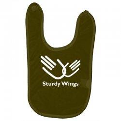 sturdy wings Baby Bibs | Artistshot